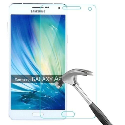 Kılıfshop Samsung Galaxy A7 Kırılmaz Cam Ekran Koruyucu
