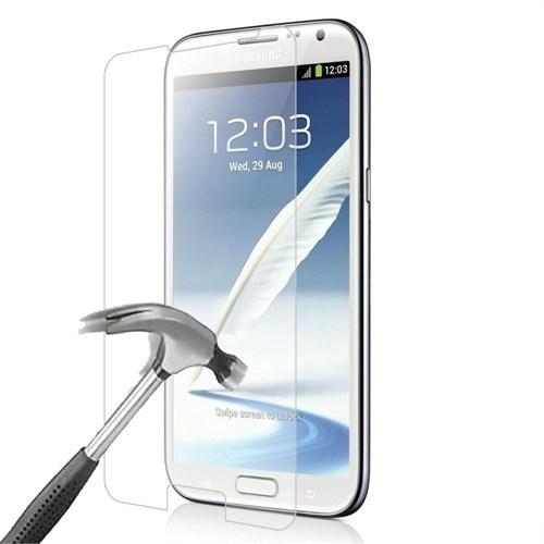 Kılıfshop Samsung Galaxy Note 2 Kırılmaz Cam Ekran Koruycu