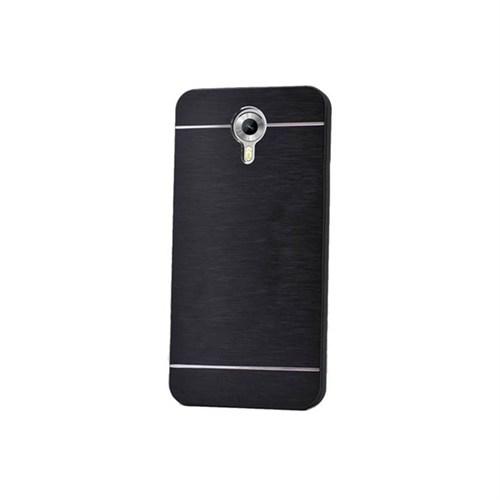 Kılıfshop General Mobile Android 4G Metal Kılıf (Siyah)