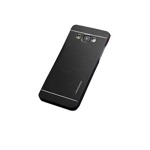 Kılıfshop Samsung Galaxy J5 Metal Kılıf (Siyah)