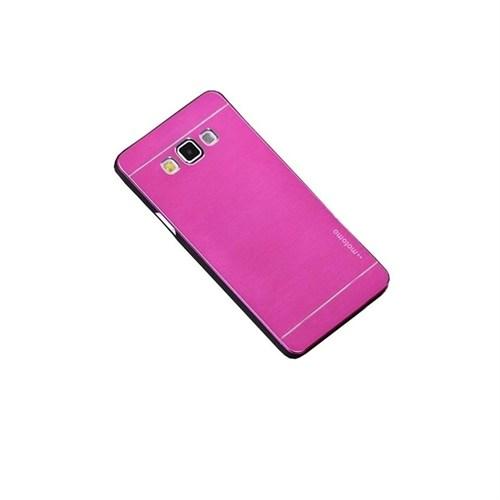 Kılıfshop Samsung Galaxy J7 Metal Kılıf (Pembe)