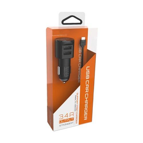 Xvoora Micro Usb Kablolu Araç Şarjı