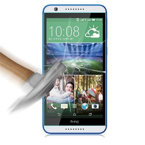 Kılıfshop Htc Desire 820 Kırılmaz Cam Glass Ekran Koruyucu