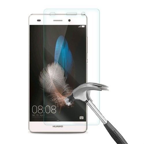 Kılıfshop Huawei P8 Lite Kırılmaz Cam Glass Ekran Koruyucu