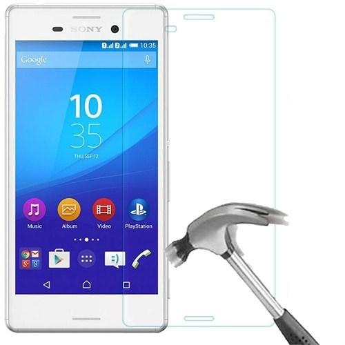 Kılıfshop Sony Xperia M4 Aqua Kırılmaz Cam Glass Ekran Koruyucu