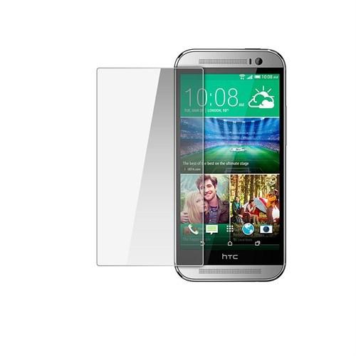 Kılıfshop Htc One M8 Mini Kırılmaz Cam Glass Ekran Koruyucu