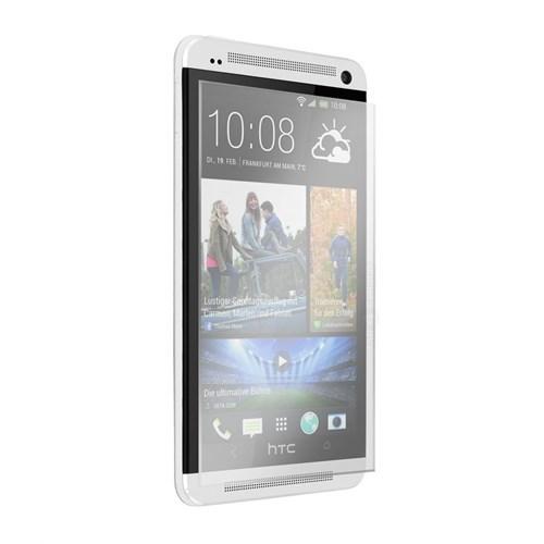 Kılıfshop Htc One M7 Kırılmaz Cam Glass Ekran Koruyucu