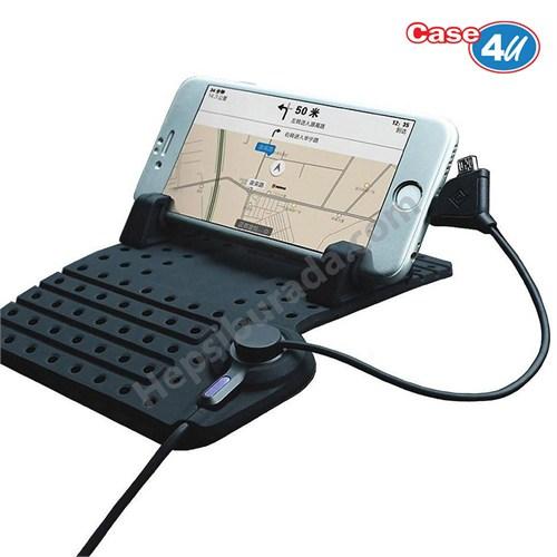 Case 4U Araç Telefon Tutucu - Şarj Standı Kaymaz Manyetik Pad*
