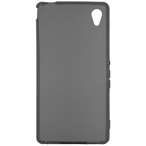 CaseCrown Sony Xperia M4 Aqua Soft Silikon Kılıf Siyah