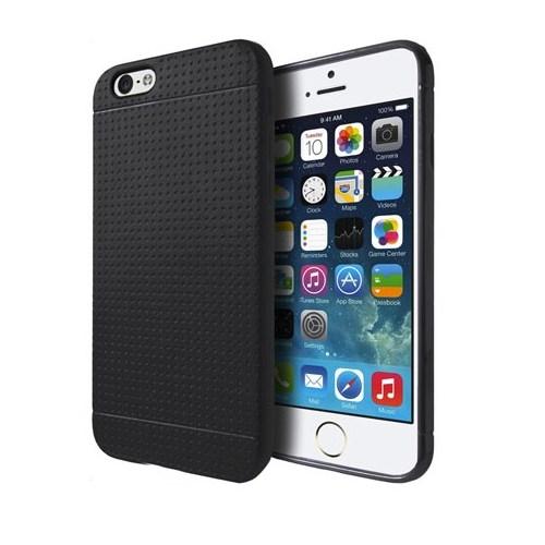 """Addison Ip-634 Siyah İphone 6 Plus 5.5"""" Silikon Koruma Kılıfı"""