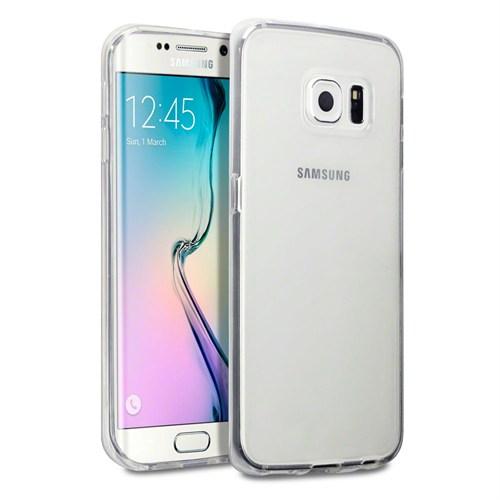 Melefoni Silikon Samsung Galaxy S6 Edge Plus Kılıf 0.3 Mm Şeffaf