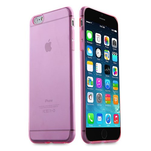 "Addison Ip-657 Pembe İphone 6 Plus 5.5"" Şeffaf Koruma Kılıfı"