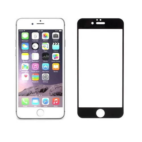 "Addison Ip-752 Tempered Glass 0.3Mm Siyah İphone 6 Plus 5.5"" Cam Ekran Koruyucu"