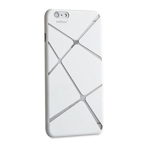 """Addison Ip-674 Beyaz İphone 6 Plus 5.5"""" Desenli Koruma Kılıfı"""