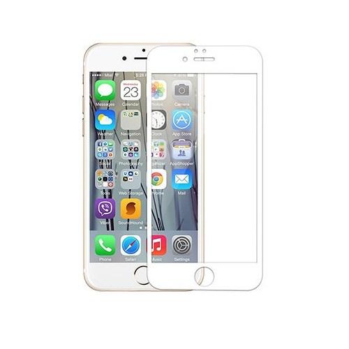 Addison Ip-854 Tempered Glass 0.3Mm Beyaz İphone 6S Plus Full Cover Cam Ekran Koruyucu
