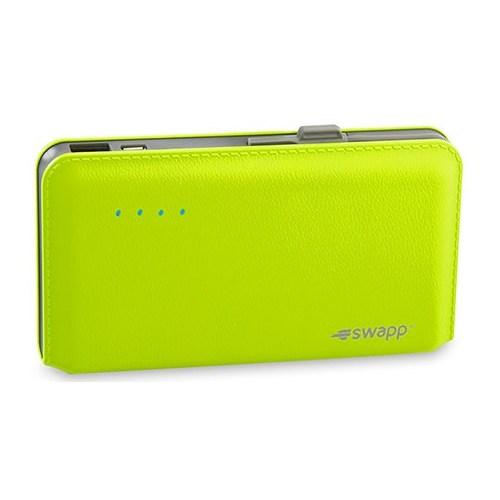 S-Link Swapp Ip-L44 12000Mah Pilli Şarj Cihazı Yeşil Taşınabilir Pil Şarj Cihazı