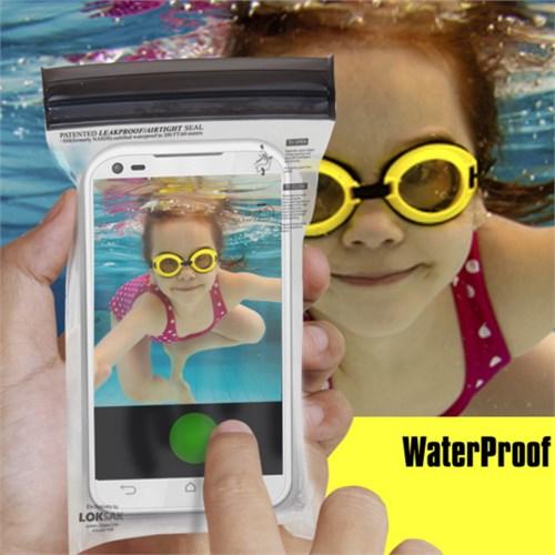 CoverZone Loksak İphone 6 - 6S Telefon Torbası Su Geçirmez 60 Metre