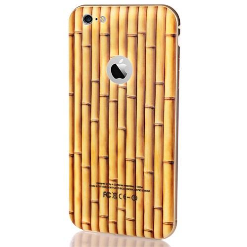 CoverZone İphone 6S Plus Kılıf Bambu Görünümlü