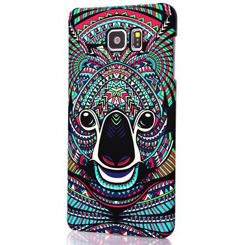CoverZone Samsung Galaxy Note 5 Kılıf Resimli Kapak Koala