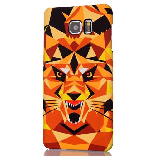 CoverZone Samsung Galaxy Note 5 Kılıf Resimli Kapak Tiger