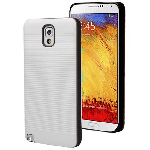 Microsonic Samsung Galaxy Note 3 Kılıf Linie Anti-Shock Beyaz