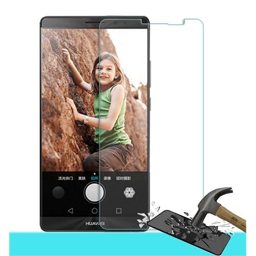 Microsonic Huawei Mate 8 Temperli Cam Ekran Koruyucu Kırılmaz Film