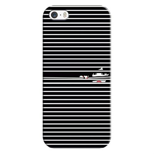 Case & CoverApple iPhone 5 3D Textured Baskılı Kılıf Pchb021801