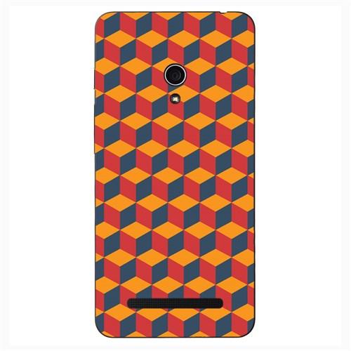 Case & CoverAsus Zenfone 5 3D Textured Baskılı Kılıf Pchb621876