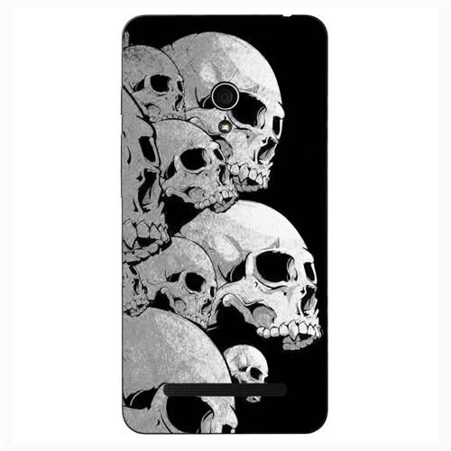 Case & CoverAsus Zenfone 5 3D Textured Baskılı Kılıf Pchb621896