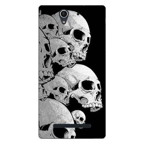 Case & CoverSony C3 3D Textured Baskılı Kılıf Pchb581896