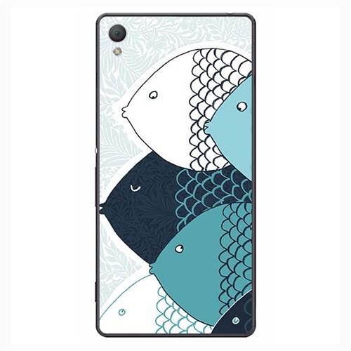 Case & CoverSony Z4 3D Textured Baskılı Kılıf Pchb601758