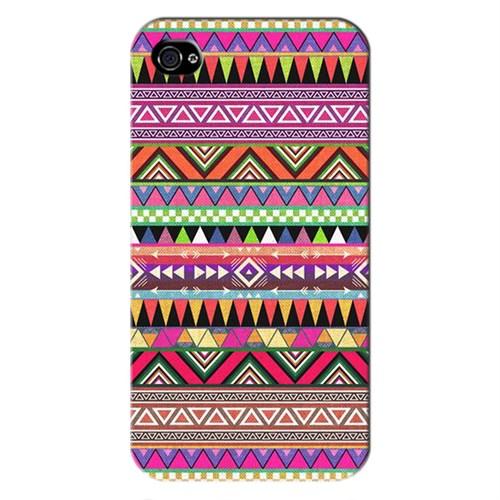 Peoples Cover Apple İphone 4S 3D Textured Baskılı Kılıf Pchb641745