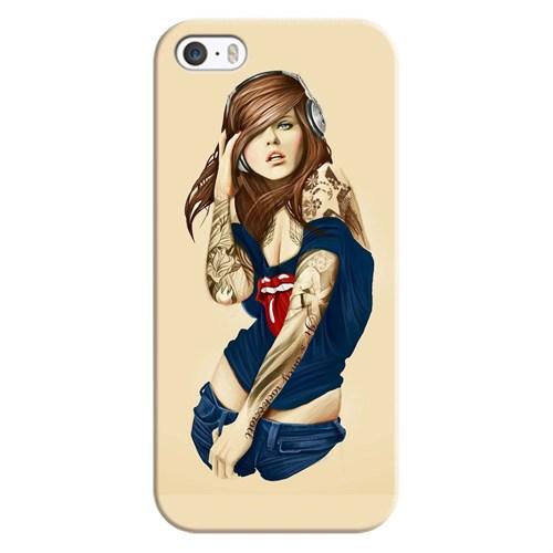 Case & CoverApple İphone 5S 3D Textured Baskılı Kılıf Pchb651884