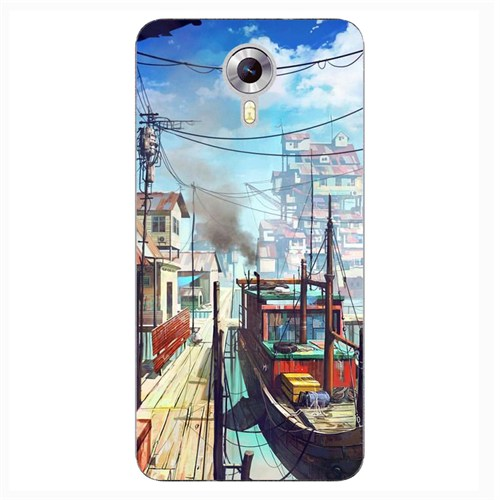 Case & CoverGeneral Mobile 4G 3D Textured Baskılı Kılıf Pchb681779