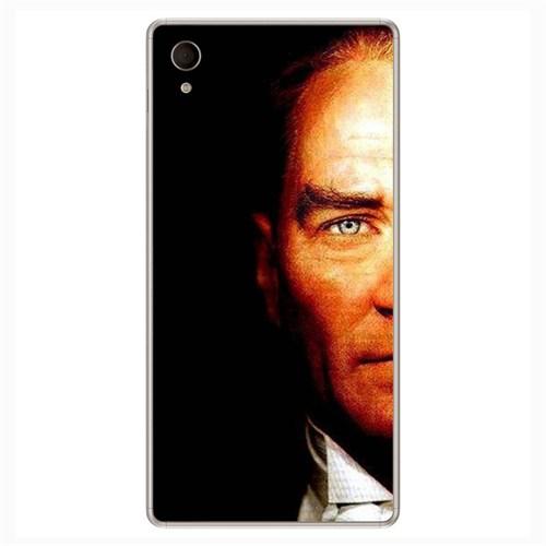 Peoples Cover Sony M4 3D Textured Baskılı Kılıf Pchb710983