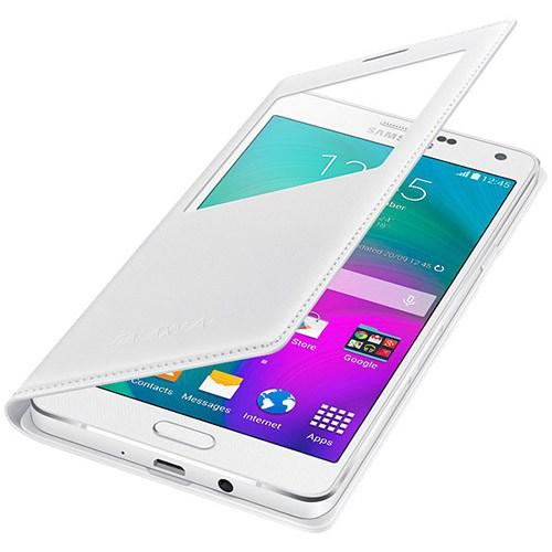 Samsung Galaxy A7 S-View Kılıf Siyah