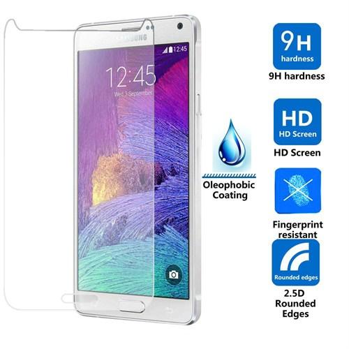 Inovaxıs- Samsung Note 4 Temperli Cam Ekran Koruyucu