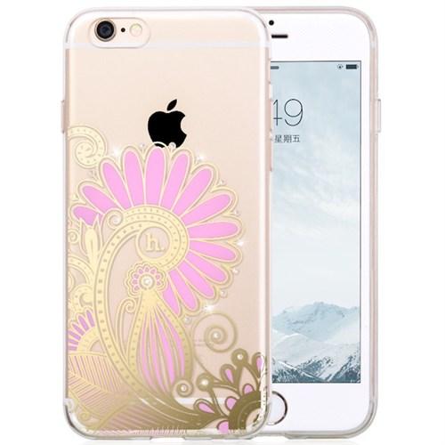 Hoco Apple İphone 6/6S Star Kristal Taşlı Silikon Kılıf Ticket