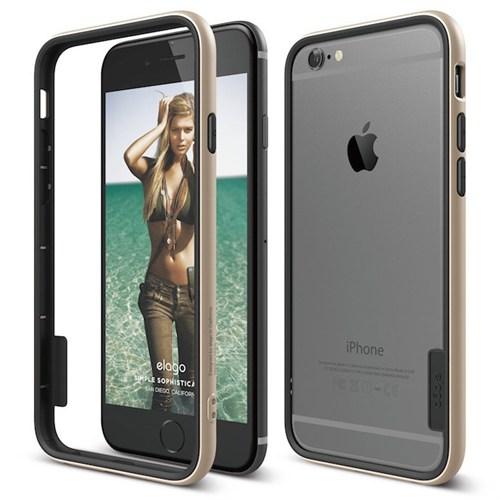 Elago Apple iPhone 6/6S Bumper Kılıf Gold