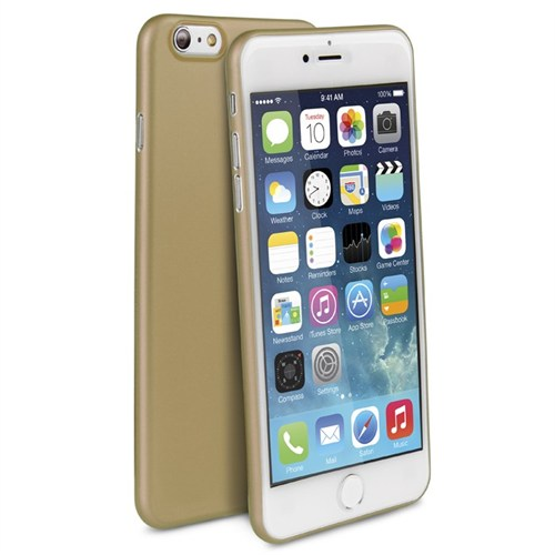 Uniq Apple iPhone 6/6S Plus Bodycon 03 Mm İnce Kılıf Gold