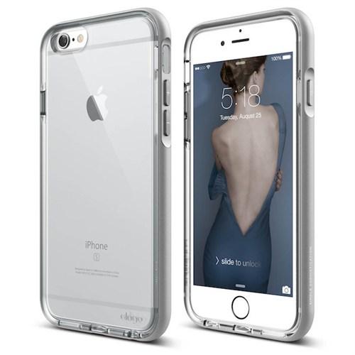 Elago Apple iPhone 6/6S Dualistic Kılıf Gümüş Gri