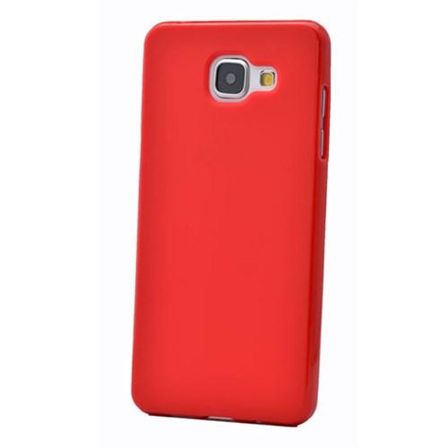Cep Market Samsung Galaxy A7 Kılıf A710- 2016 Silikon Tpu - Kırmızı