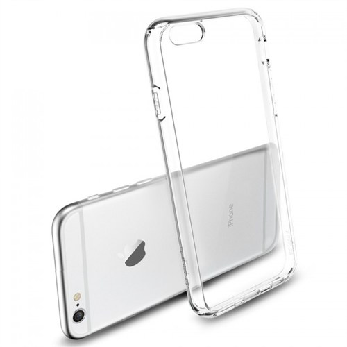 Inova Invssıp6b Inova Iphone 6 Şeffaf Silikon Kılıf Kapak Beyaz