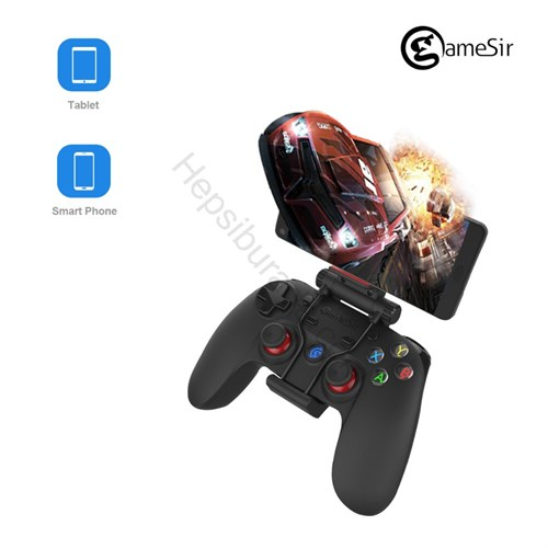 Case 4U GAMESIR G3S Kablosuz Kumanda / Kol / Joystick Bluetooth 4.0 Pc/Ps3/Android/iOS (Samsung,iPhone,Lg,Htc,Sony,Ps3,PC)