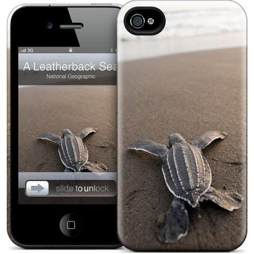 Gelaskins Apple iPhone 4 Hardcase Kılıf A Leatherback
