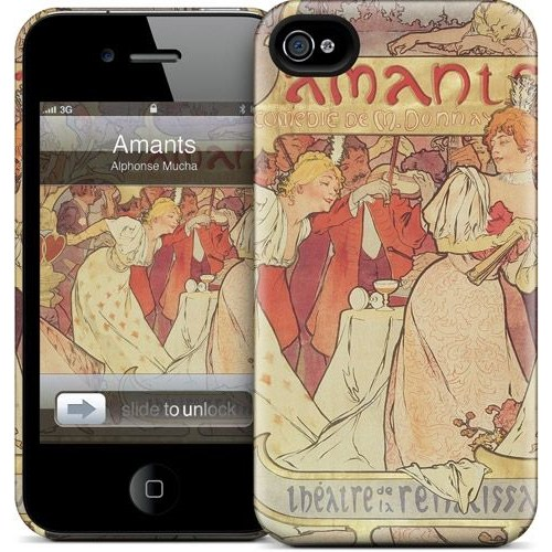 Gelaskins Apple iPhone 4 Hardcase Kılıf Amants