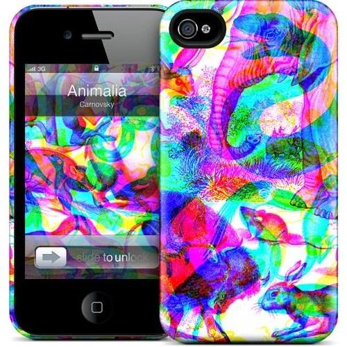 Gelaskins Apple iPhone 4 Hardcase Kılıf Animalia