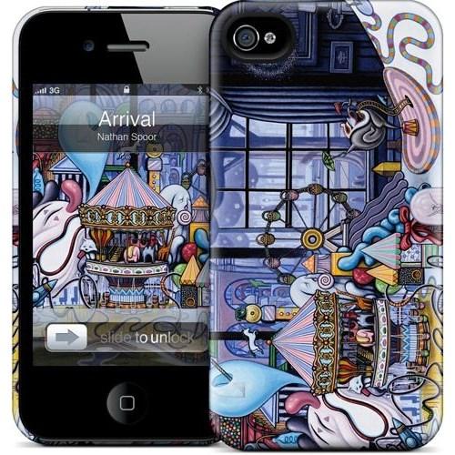 Gelaskins Apple iPhone 4 Hardcase Kılıf Arrival