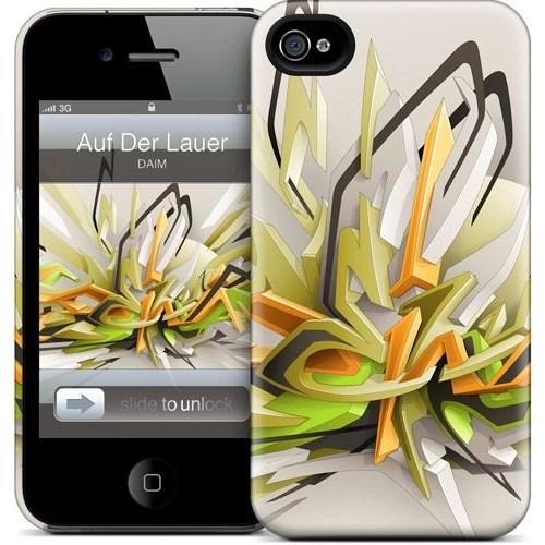 Gelaskins Apple iPhone 4 Hardcase Kılıf Auf Der Lauer