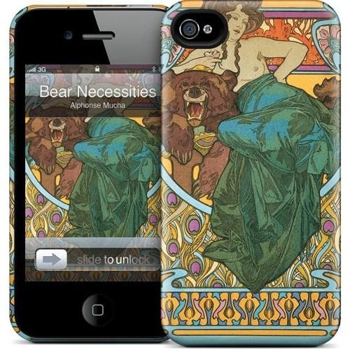 Gelaskins Apple iPhone 4 Hardcase Kılıf Bear Necessities